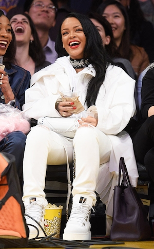 ESC: Courtside Style, Rihanna