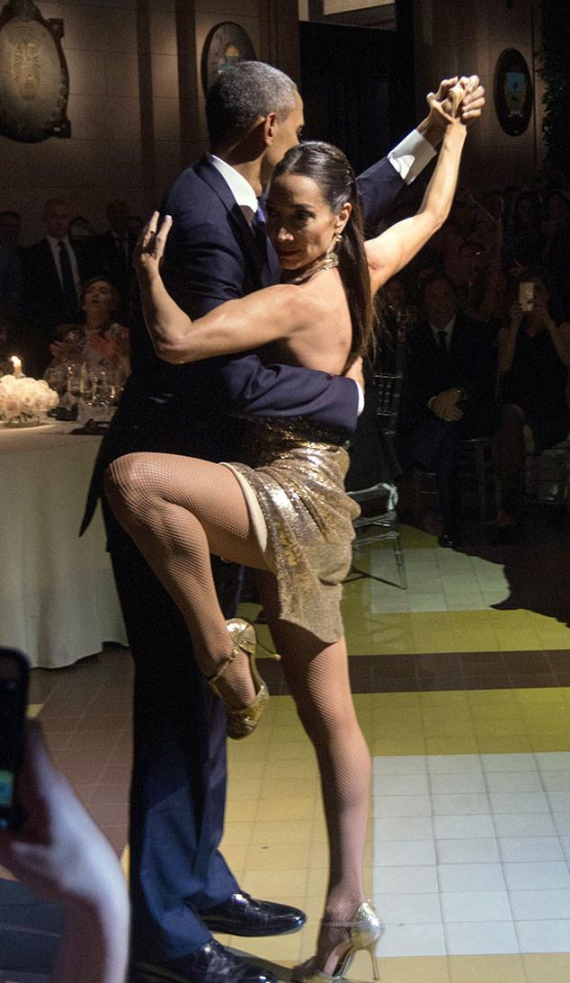 Barack Obama, Michelle Obama, Tango