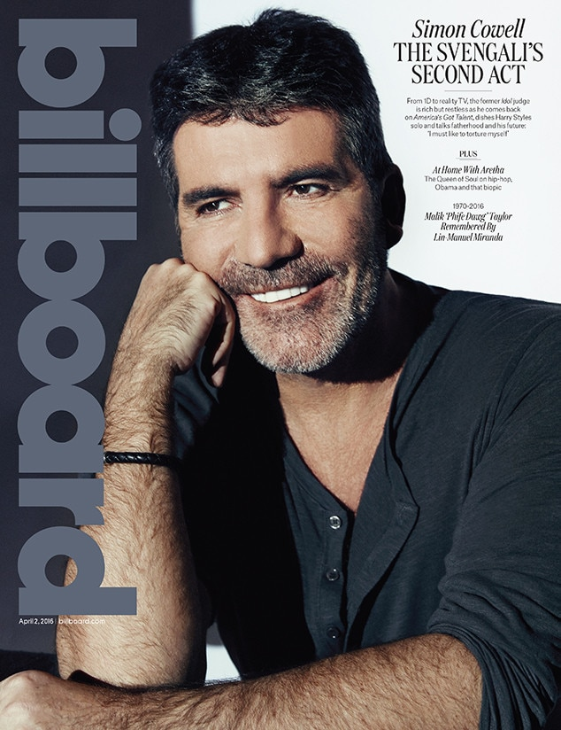 Simon Cowell, Billboard Magazine, April 2, 2016 Cover