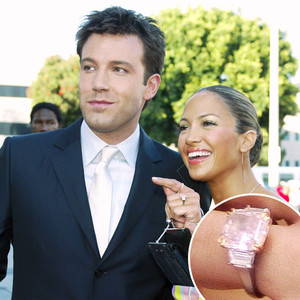 Jennifer Lopez, Ben Affleck, Engagement Ring