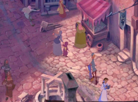 The Hunchback of Notre Dame, Belle, Easter Egg