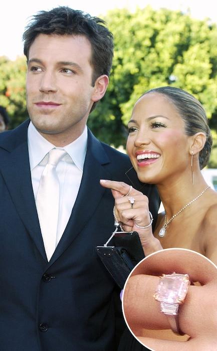 Jennifer Lopez, Ben Affleck, Engagement Ring