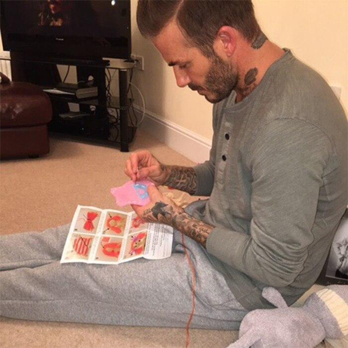 David Beckham, Sewing