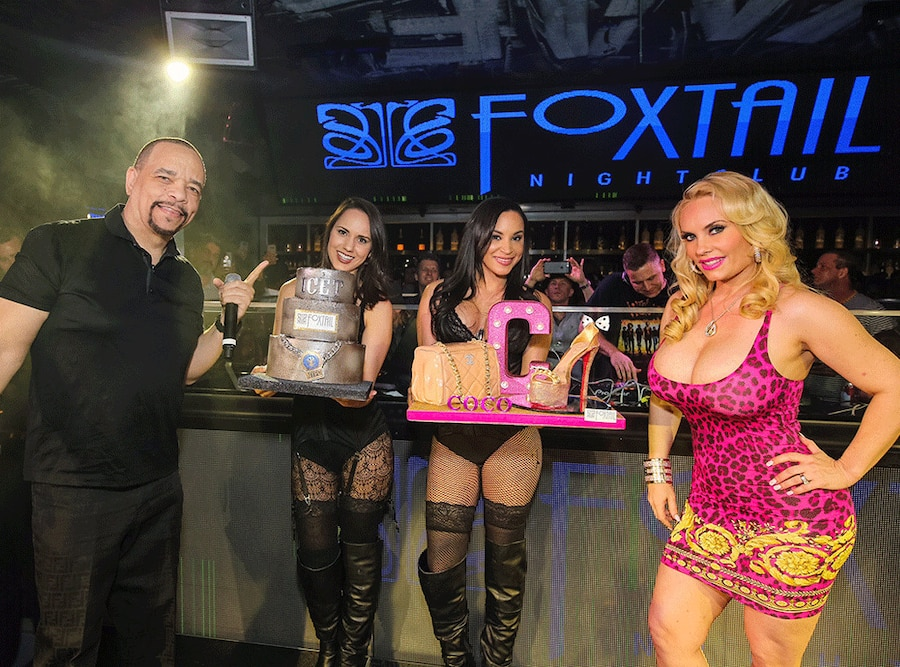 Ice-T, Coco, Birthdays, Las Vegas