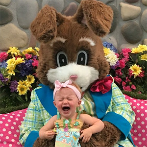 Kelly Clarkson, Daughter River Rose, Easter 2016