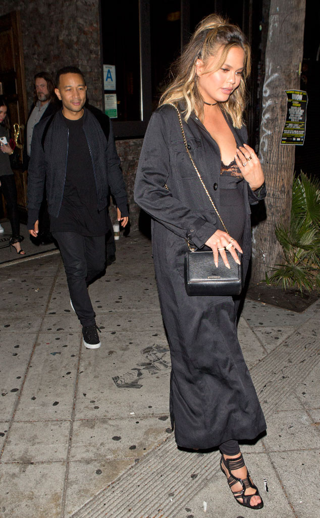 Chrissy Teigen, John Legend, Lady Gaga's Birthday