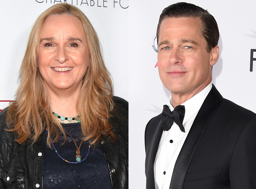 Melissa Etheridge, Brad Pitt