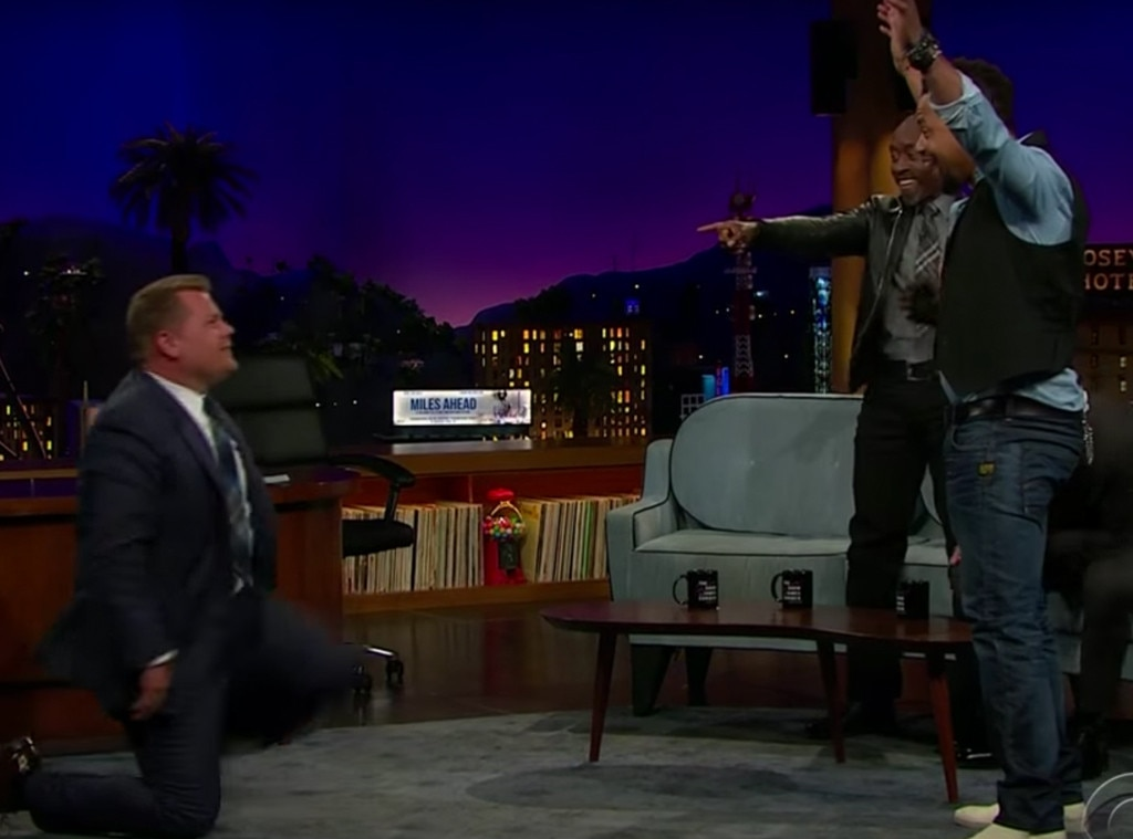 James Corden, Cuba Gooding Jr., Jon Bernthal, Late Late Show