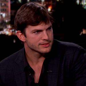 Ashton Kutcher, Jimmy Kimmel