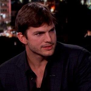 Ashton Kutcher, Jimmy Kimmel