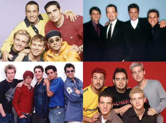Backstreet Boys, 98 Degrees, O-Town, NSYNC