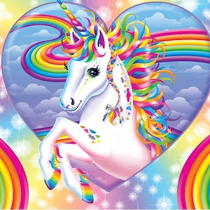 Lisa Frank Unicorn