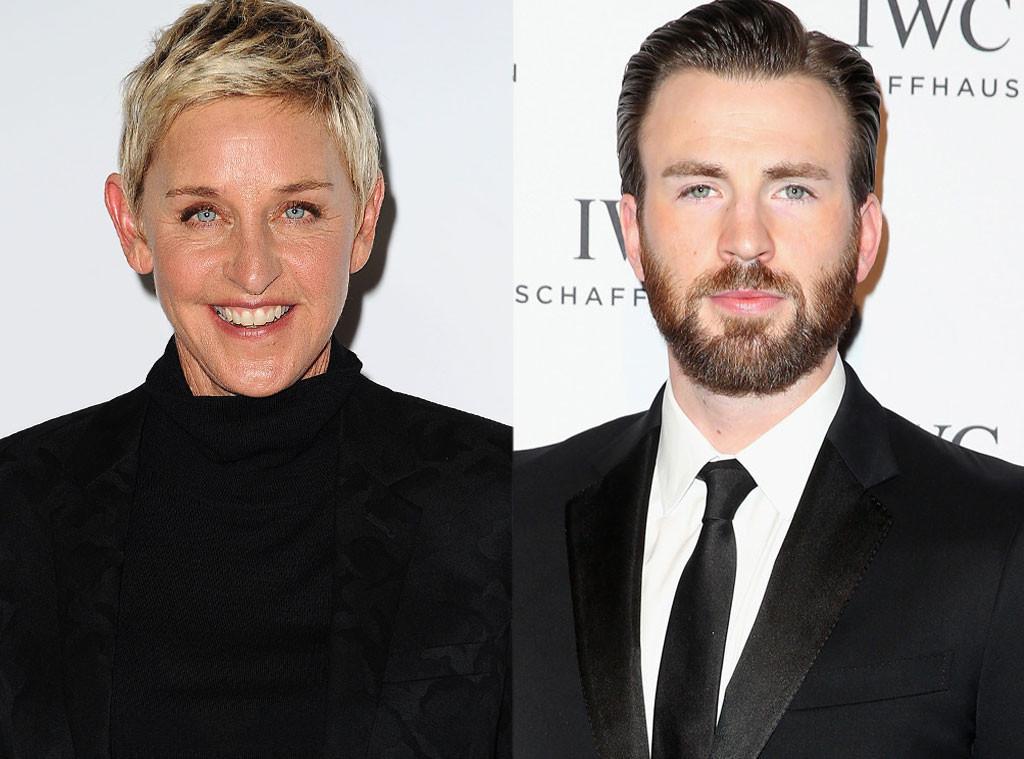 Ellen DeGeneres, Chris Evans