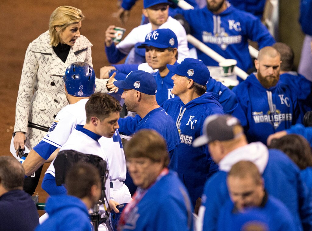 Erin Andrews, World Series
