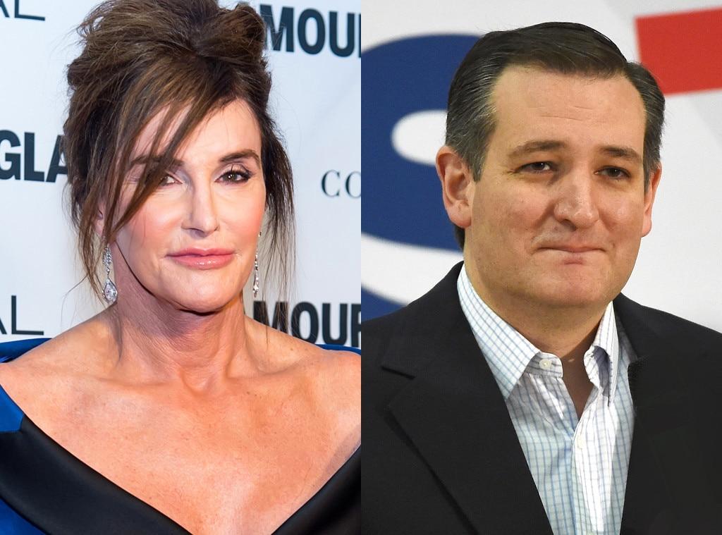 Caitlyn Jenner, Ted Cruz