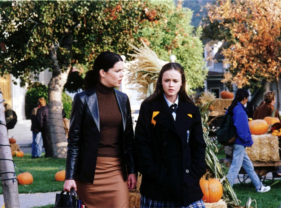 Lauren Graham, Alexis Bledel, Gilmore Girls