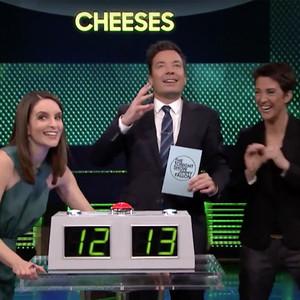 Tina Fey, Rachel Maddow, Jimmy Fallon