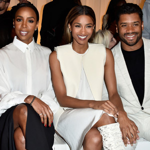 Emmy Rossum, Kelly Rowland, Ciara,  Russel Wilson, Paris Fashion Week Star Sightings