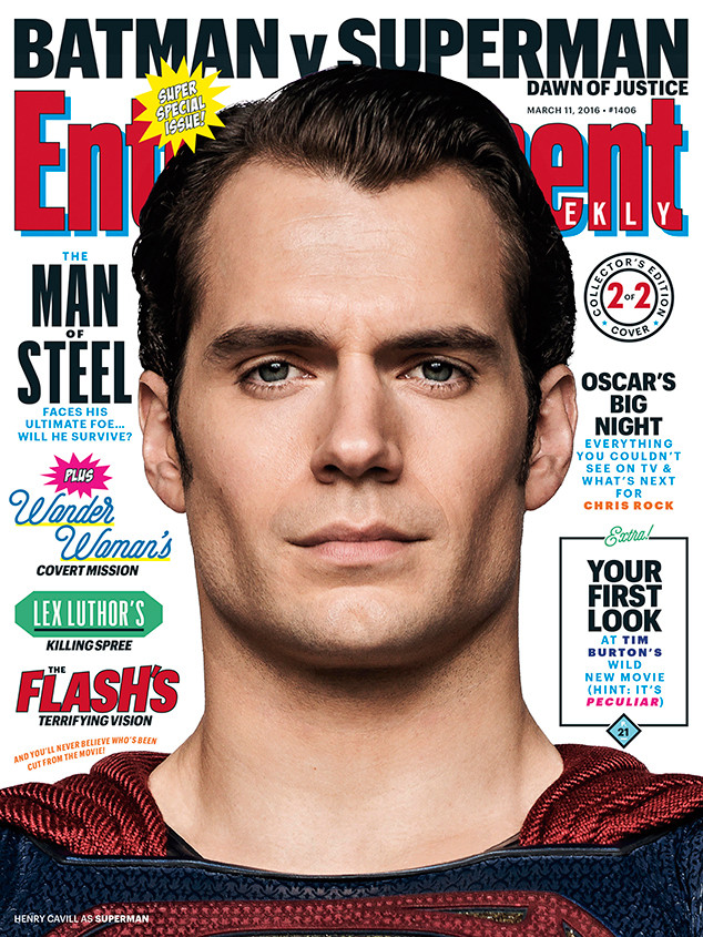 Batman v. Superman: Dawn of Justice, Entertainment Weekly