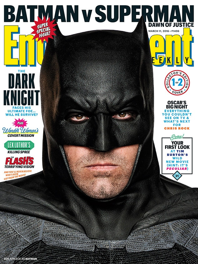 Batman v. Superman: Dawn of Justice, Entertainment Weekly
