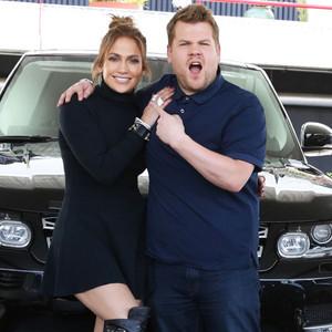 Jennifer Lopez, James Corden