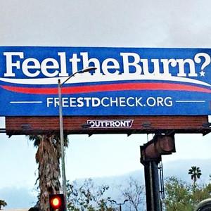 Feel the Burn Billboard