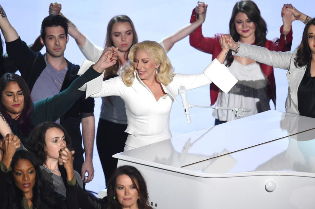 Lady Gaga, 2016 Oscars, Academy Awards, Show