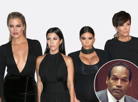 Khloe Kardashian, Kourtney Kardashian, Kim Kardashian, Kris Jenner, O.J. Simpson