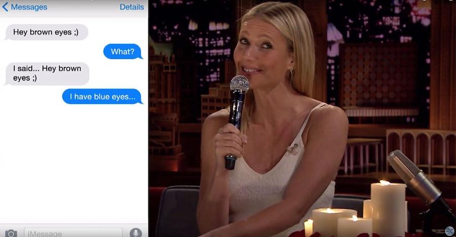 Gwyneth Paltrow, The Tonight Show