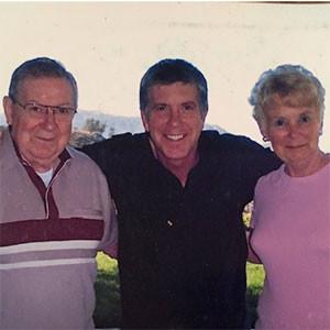 Tom Bergeron, Parents