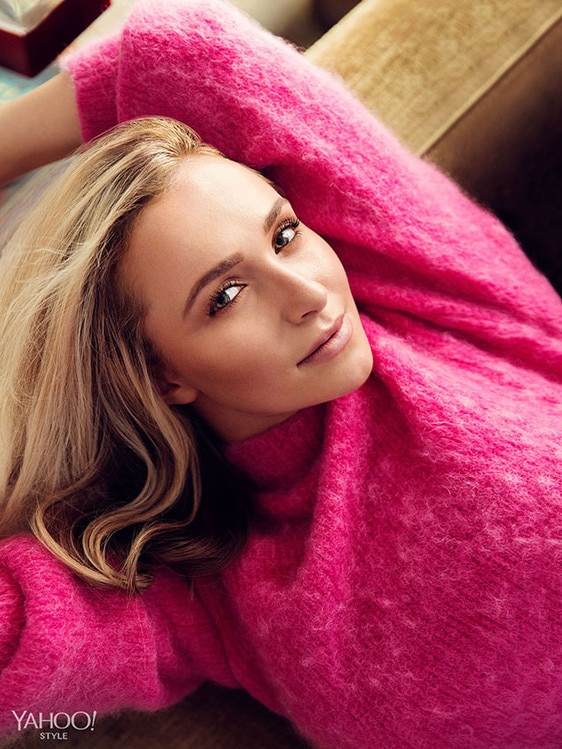 Hayden Panettiere, Yahoo! Style Photo Shoot