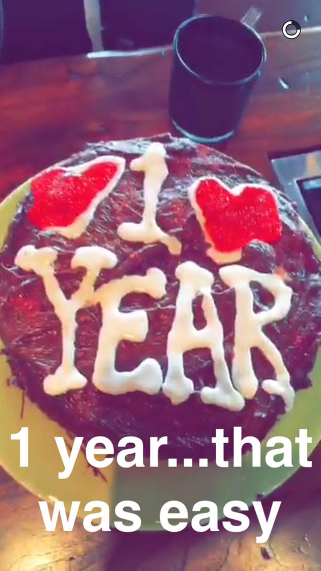 Calvin Harris, Taylor Swift, Snapchat