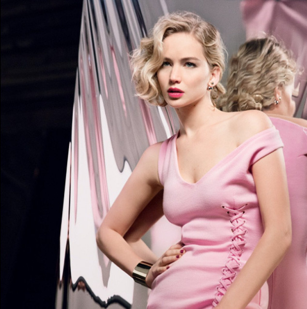 Jennifer Lawrence, Dior Ad