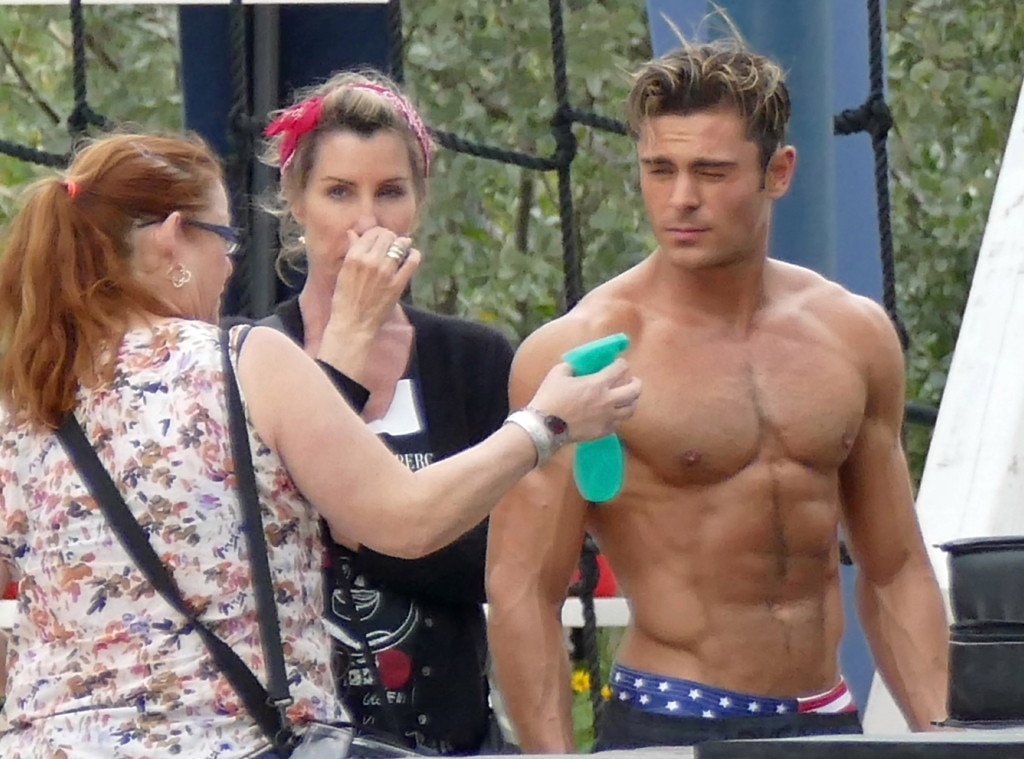 Zac Efron S Makeup Artist Has The Job Of Our Dreams On The