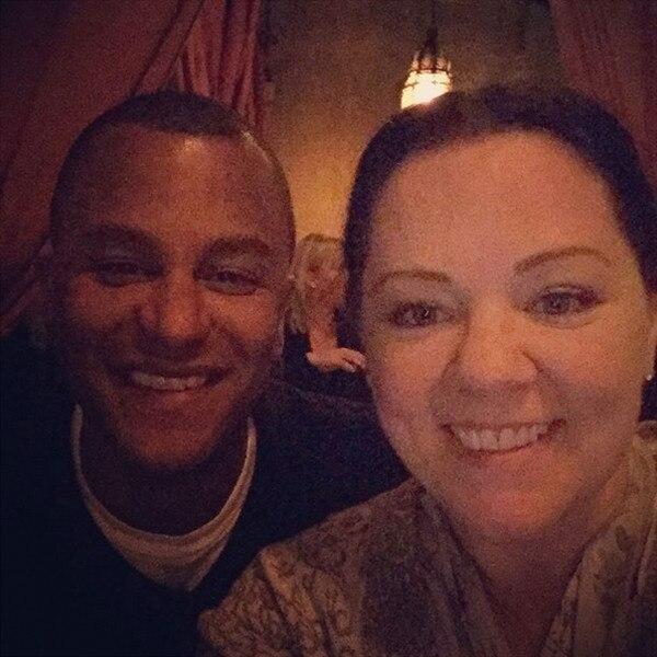 Yanic Truesdale, Melissa McCarthy Instagram