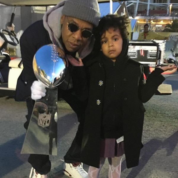 Beyoncé, Jay Z, Blue Ivy, Super Bowl 50