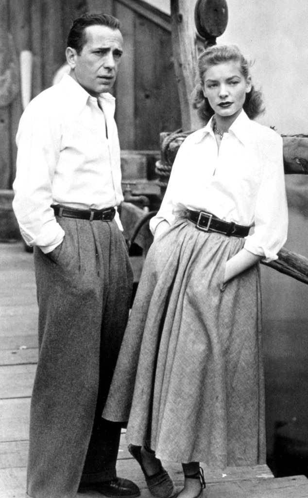 Iconic 40s Fashion: 1940s: Humphrey Bogart And Lauren Bacall From Best Dressed