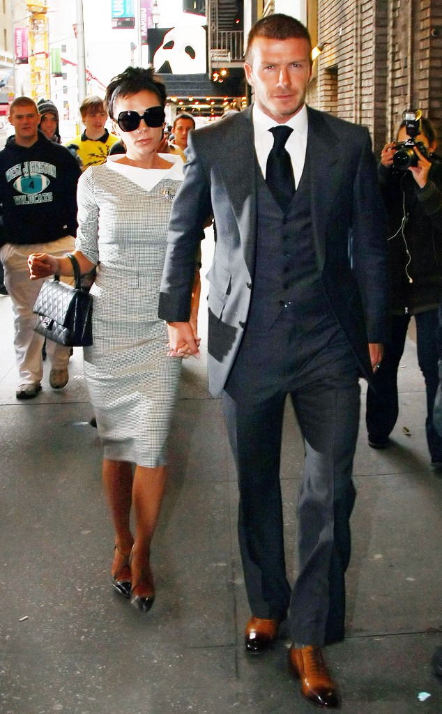 ESC: Stylish Couples, David Beckham, Victoria Beckham