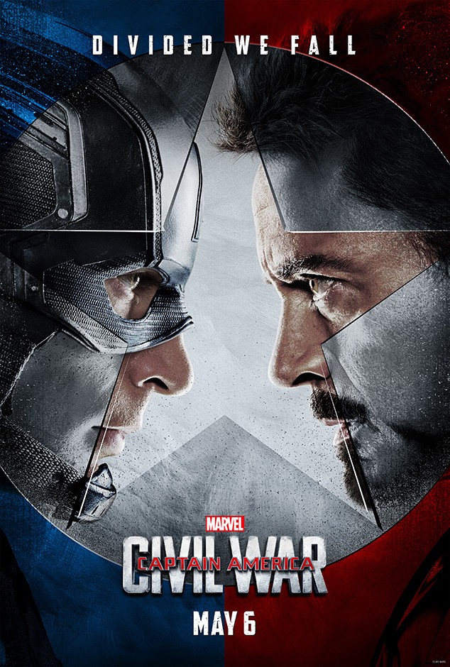 Captain America: Civil War, Poster