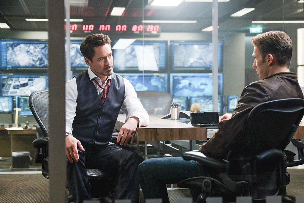 Captain America: Civil War, Robert Downey Jr., Chris Evans