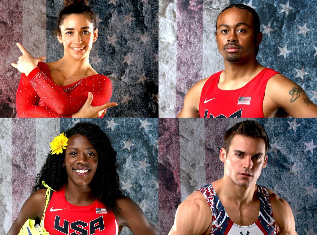 U.S. Olympians Portraits