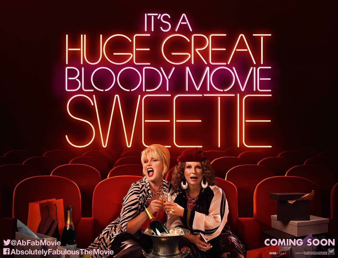 fabulous movies What happened to patsy's and edina's closets in the 24 years between the beginning of the hit british television series absolutely fabulous and its new movie incarnation.