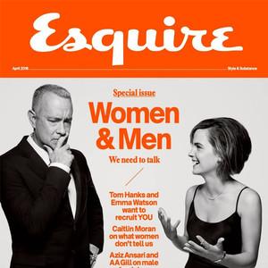 Emma Watson, Tom Hanks, Esquire U.K.