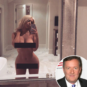 Kim Kardashian, Naked, Piers Morgan