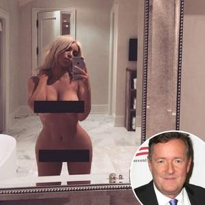 Kim Kardashian, Naked, Piers Morgan