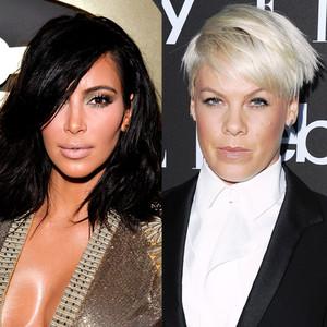 Kim Kardashian, Pink