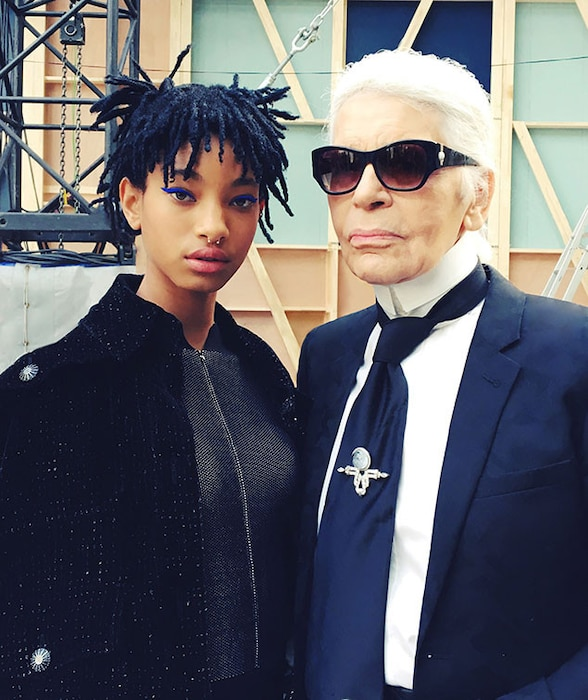 Willow Smith, Karl Lagerfeld, Chanel