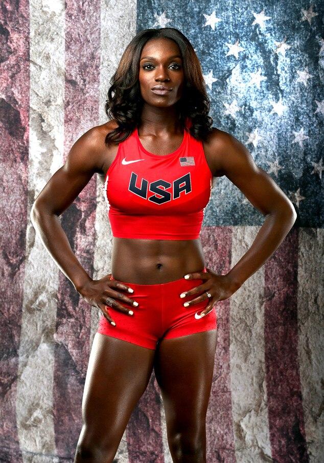 Dawn Harper-Nelson from 2016 U.S. Olympic Portraits   E! News