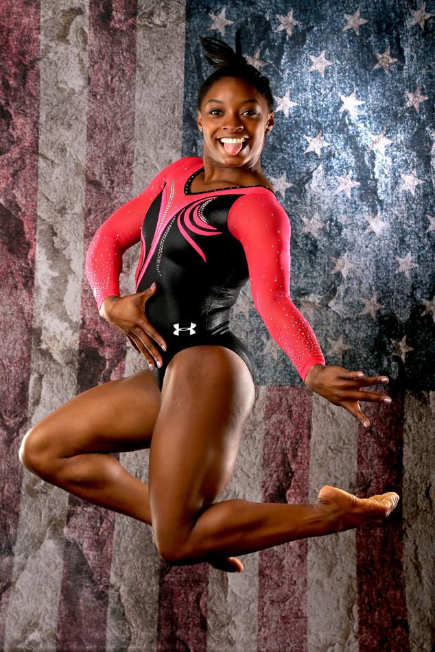 U.S. Olympians Portraits, Simone Biles