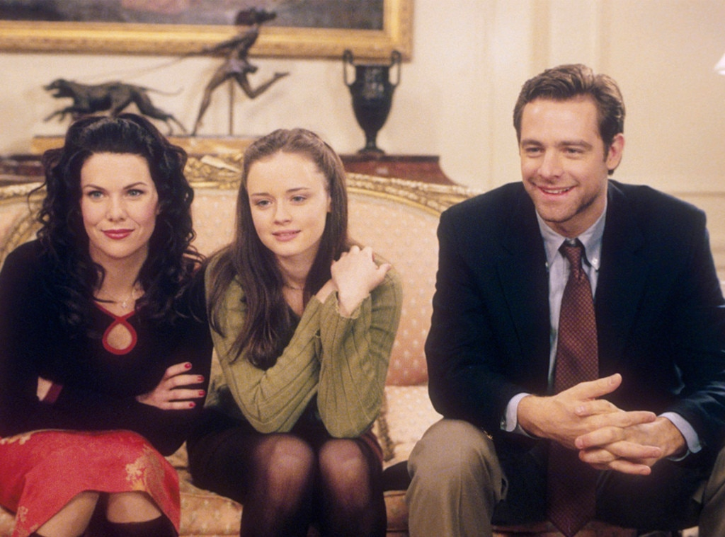 Lauren Graham, Alexis Biedel, David Sutcliffe, Gilmore Girls